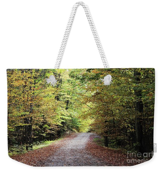 Autumn In Michigan Weekender Tote Bag