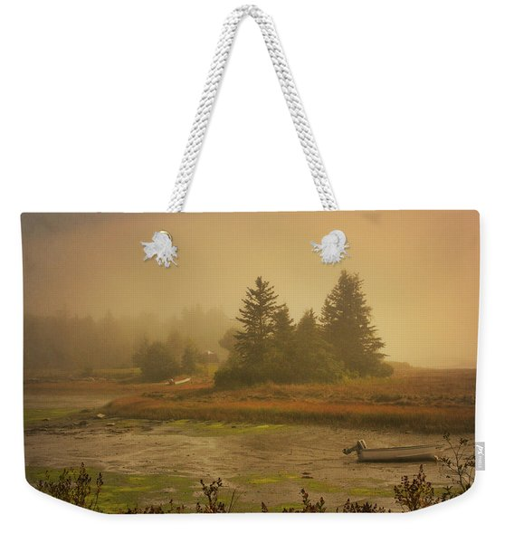 Autumn In New England Weekender Tote Bag