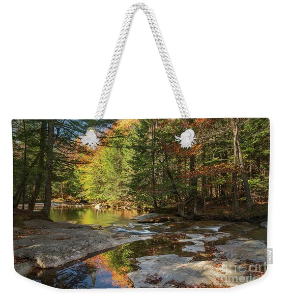 Autumn In New Hampshire Weekender Tote Bag