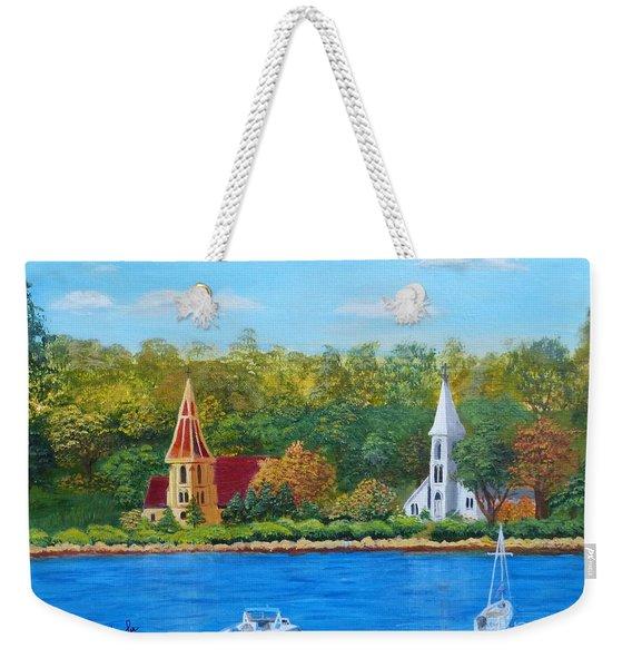 Autumn In Nova Scotia Weekender Tote Bag