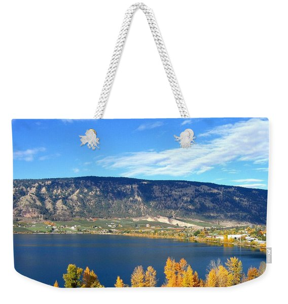 Autumn In Oyama Weekender Tote Bag