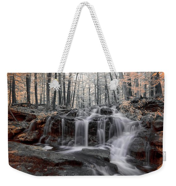Autumn In Spring Infrared Weekender Tote Bag