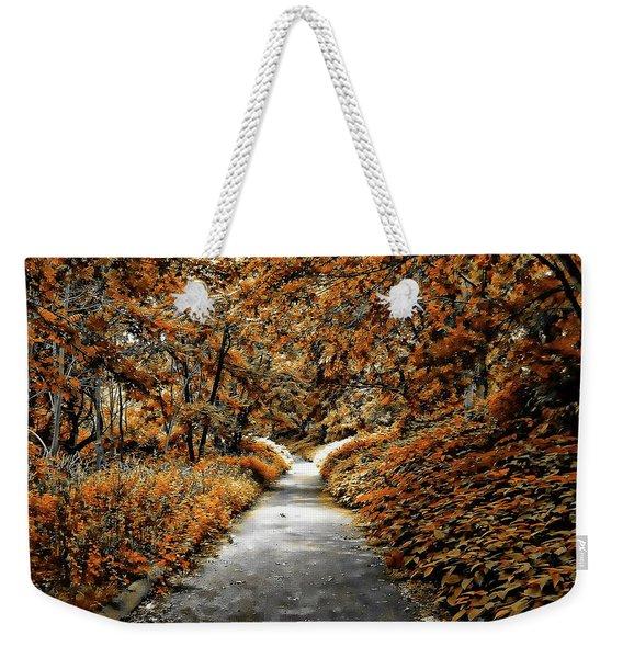 Autumn In Stamford Weekender Tote Bag