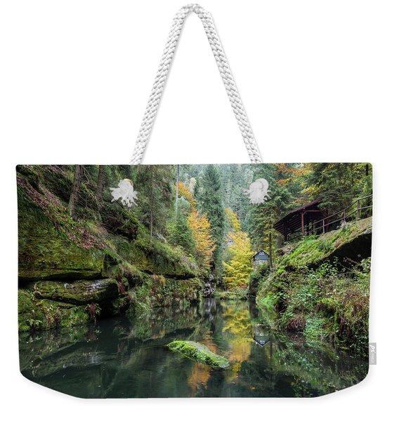 Autumn In The Kamnitz Gorge Weekender Tote Bag