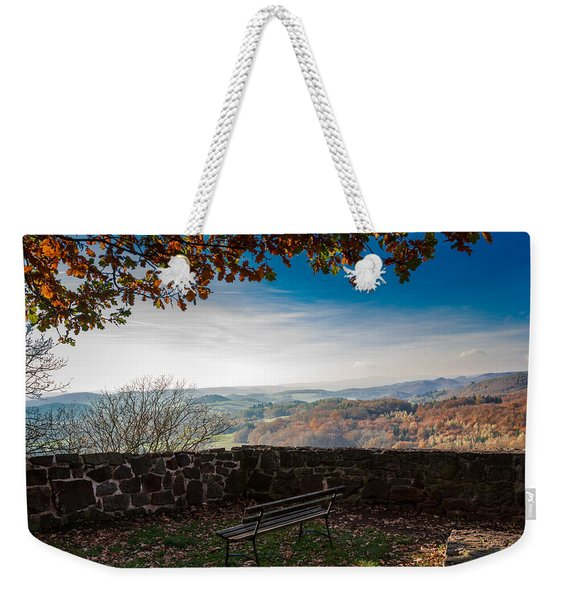 Autumn In The Southern Harz Weekender Tote Bag