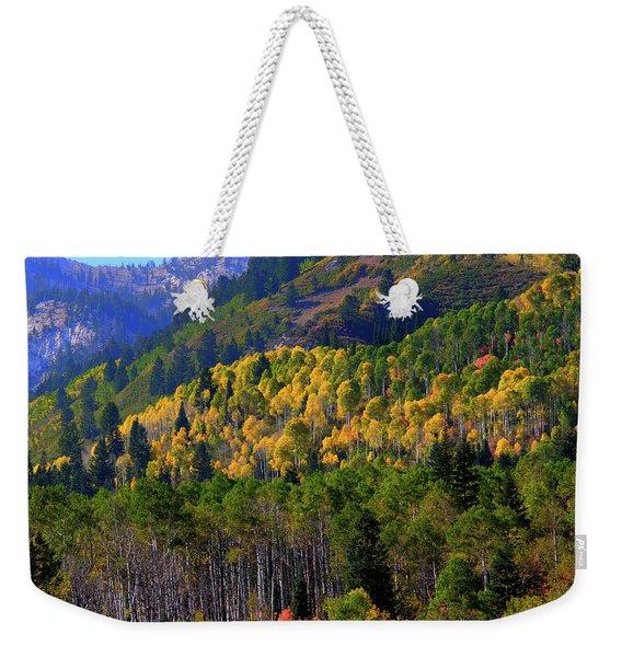 Autumn In Utah Weekender Tote Bag