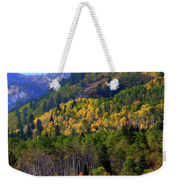 Autumn In Utah Weekender Tote Bag