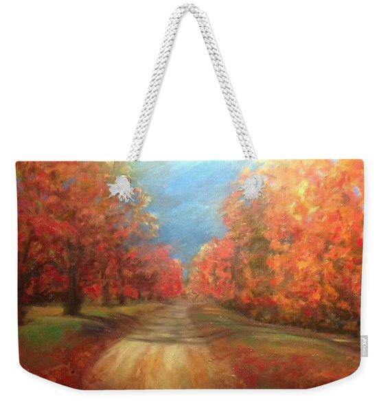 Autumn Dream Weekender Tote Bag