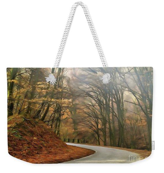 Autumn Landscape Painting Weekender Tote Bag