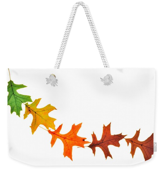Autumn Leaves 1 Weekender Tote Bag