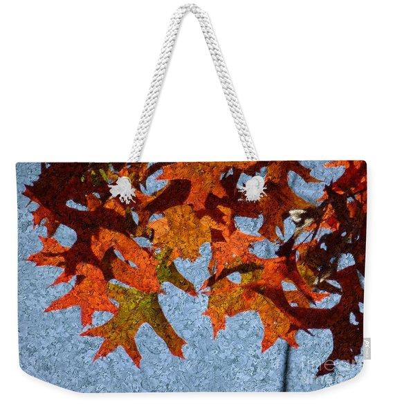 Autumn Leaves 20 Weekender Tote Bag