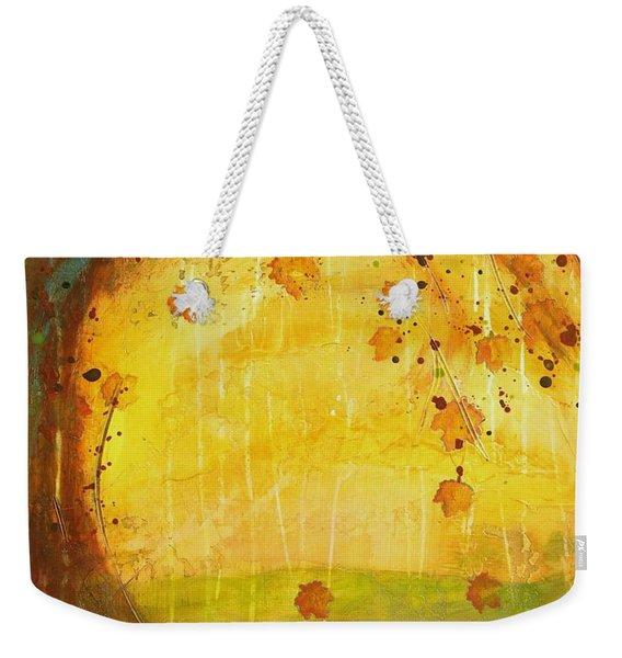 Autumn Leaves - Tree Series Weekender Tote Bag