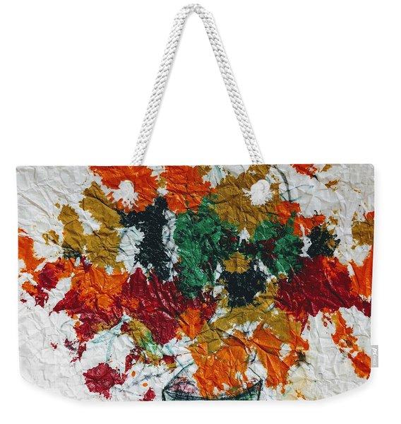 Autumn Leaves Plant Weekender Tote Bag