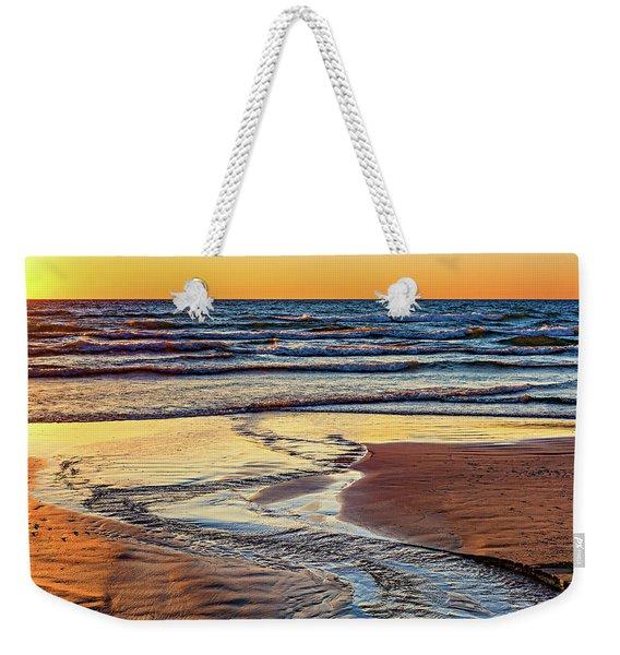 Autumn Merging - Sauble Beach 6 Weekender Tote Bag