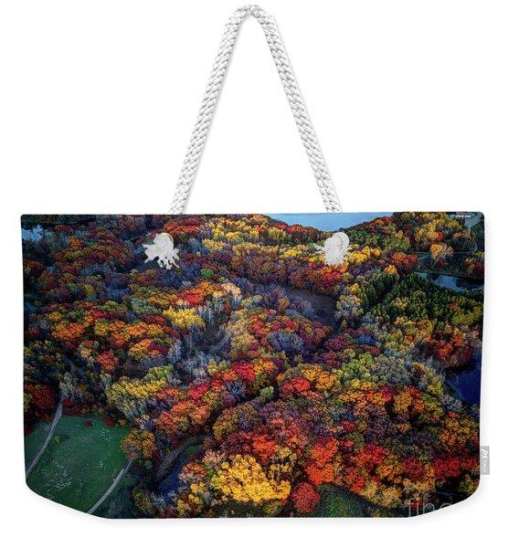 Autumn Minnesota Parks - Lebanon Hills Park Dakota County Weekender Tote Bag