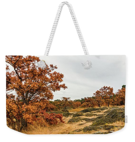 Autumn Oaks 3 Weekender Tote Bag