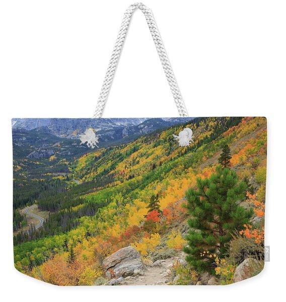 Autumn On Bierstadt Trail Weekender Tote Bag