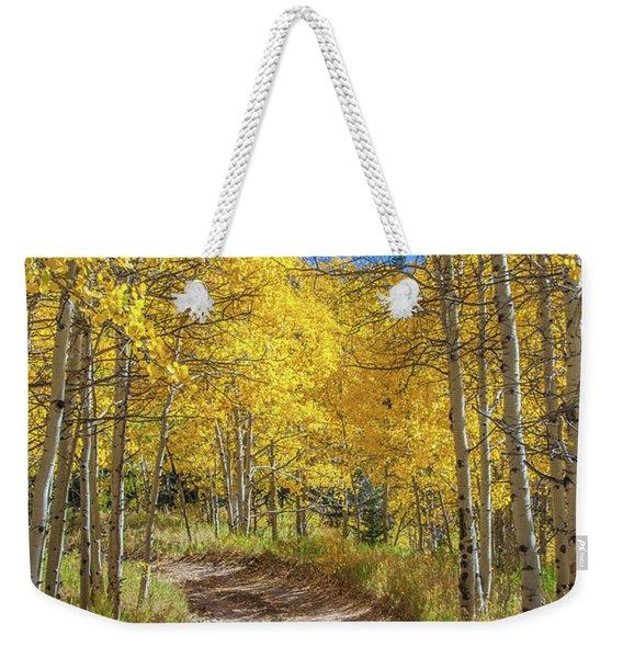 Autumn On Medano Pass Weekender Tote Bag