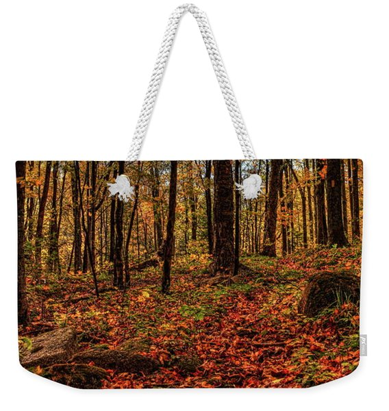 Autumn On The Ice Age Trail Weekender Tote Bag