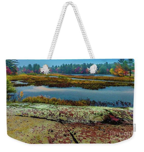 Autumn Rain 2 Weekender Tote Bag