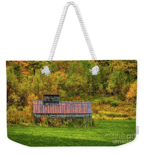 Autumn Rain 3 Weekender Tote Bag