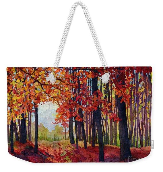 Autumn Rapture Weekender Tote Bag