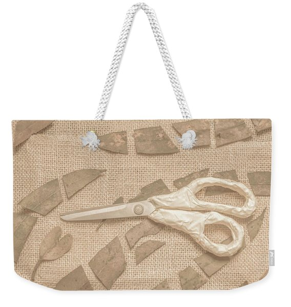 Autumn Refraction Weekender Tote Bag