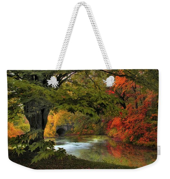 Autumn Reverie Weekender Tote Bag
