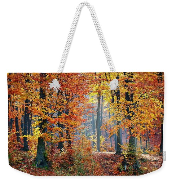 Autumn Splendour Weekender Tote Bag
