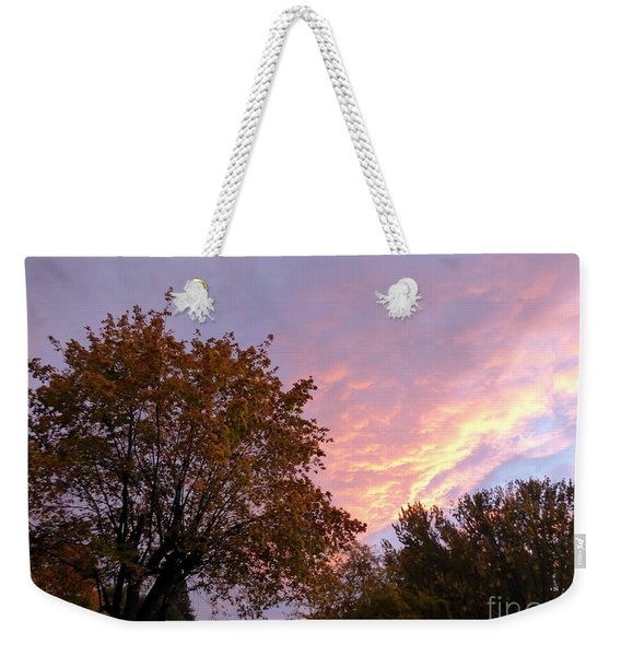 Autumn Sunset 2 Weekender Tote Bag