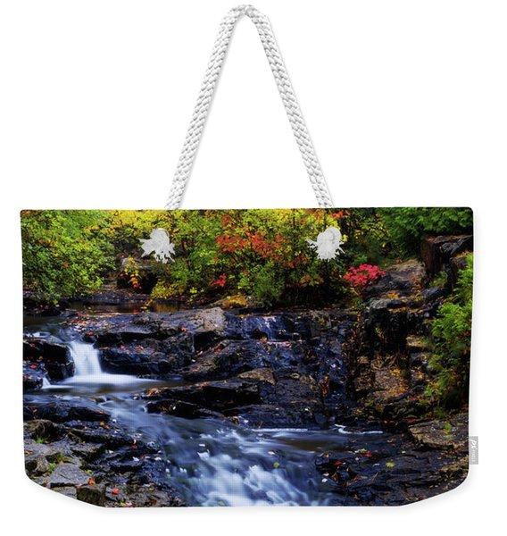 Autumn Swirls Weekender Tote Bag
