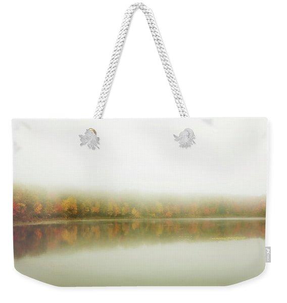 Autumn Symmetry Weekender Tote Bag