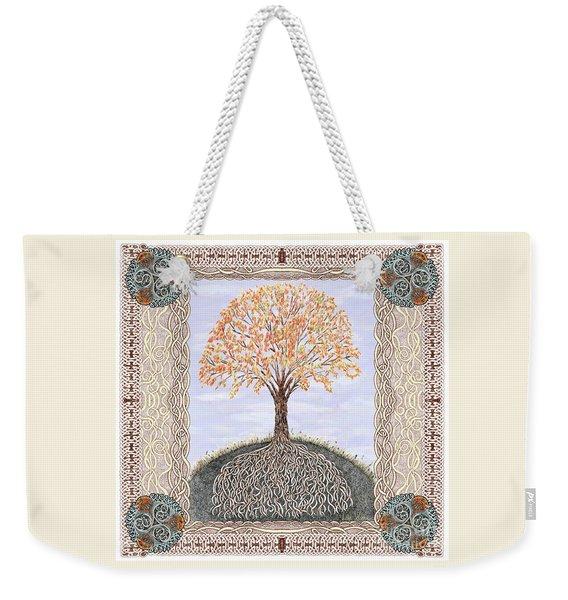Autumn Tree Of Life Weekender Tote Bag