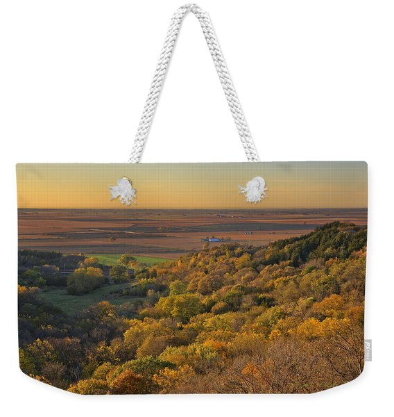 Autumn View At Waubonsie State Park Weekender Tote Bag