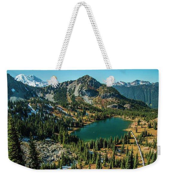 Autumn View Weekender Tote Bag
