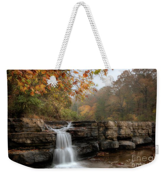 Autumn Water Weekender Tote Bag