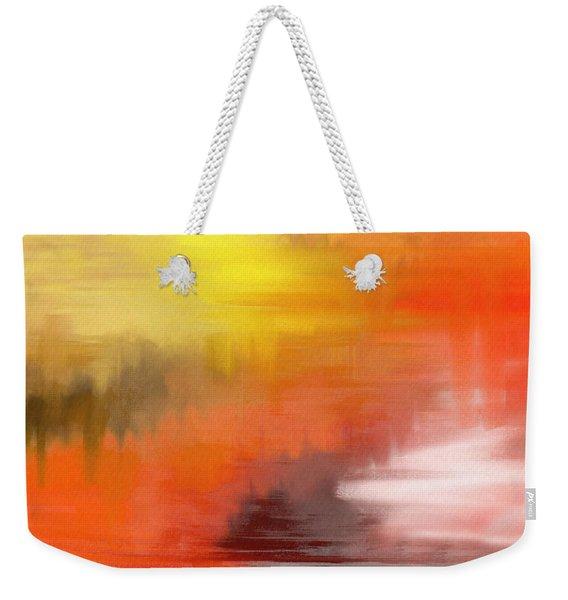 Autumnal Abstract  Weekender Tote Bag