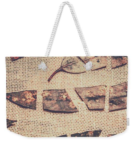 Autumnal Break Weekender Tote Bag