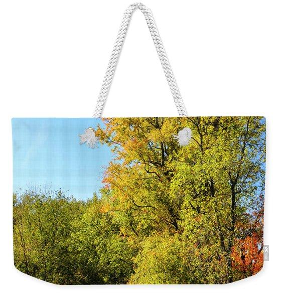 Autumnal North Bridge Weekender Tote Bag