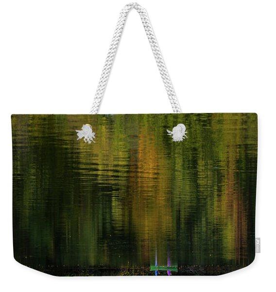 Autumnal Reflections Weekender Tote Bag