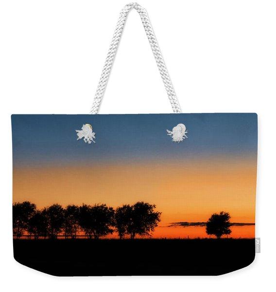 Autumn's Golden Glow Weekender Tote Bag