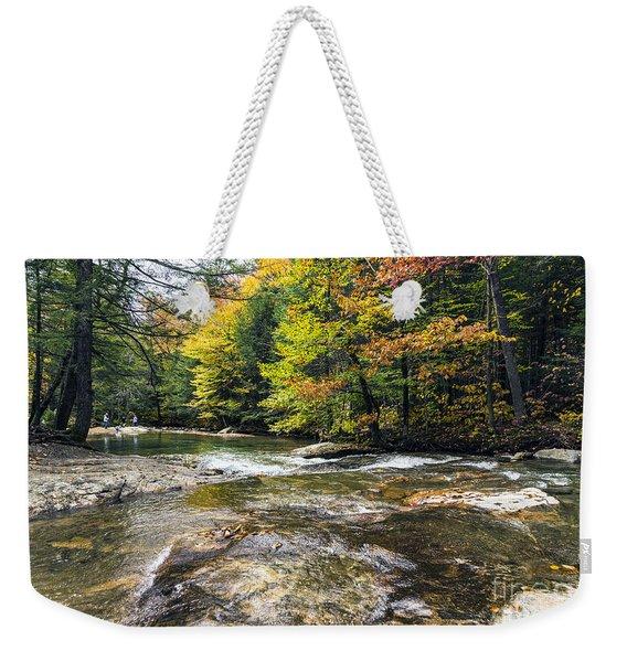 Autumns Kiss Weekender Tote Bag