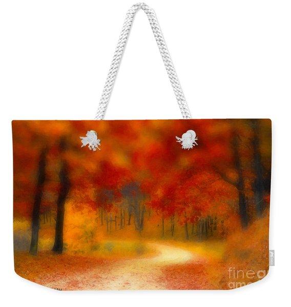 Autumn's Promise Weekender Tote Bag