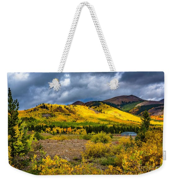 Autumn's Smile Weekender Tote Bag