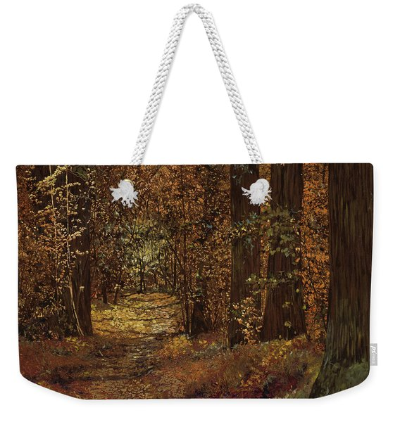 Autunno Nei Boschi Weekender Tote Bag