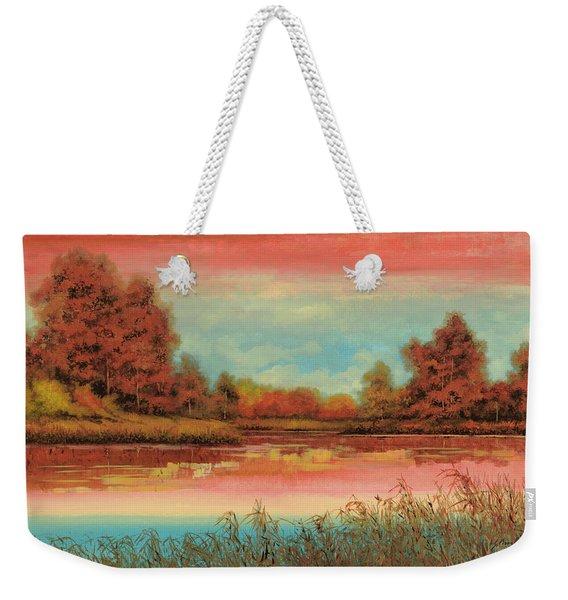 Autunno Sul Lago Weekender Tote Bag
