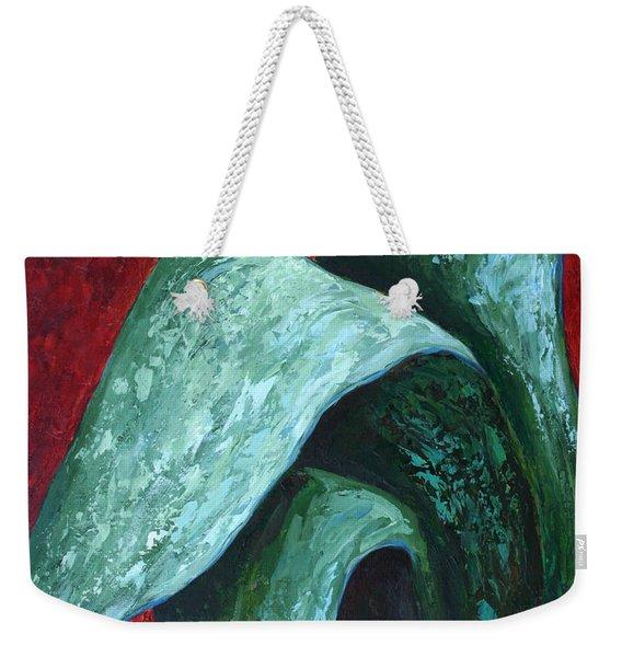 Av Leaves Weekender Tote Bag