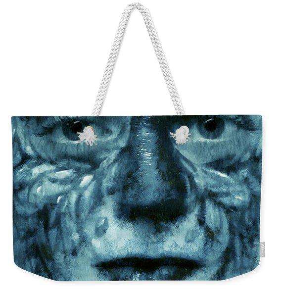 Avatar Portrait Weekender Tote Bag