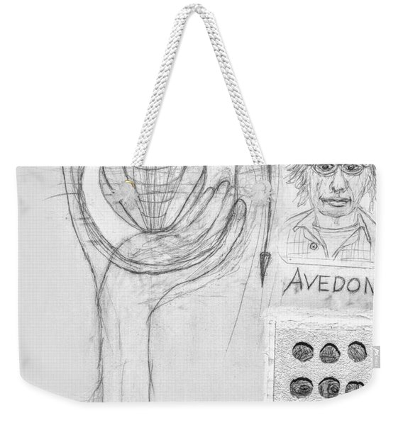 Avedon Master Of The Lens Weekender Tote Bag