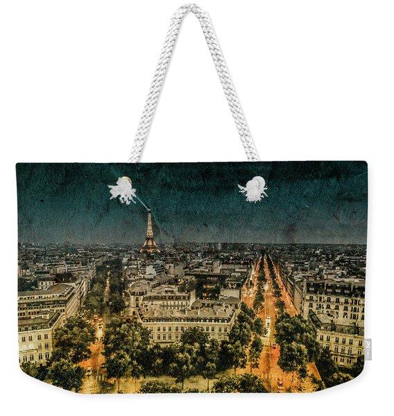 Paris, France - Avenue Kleber Weekender Tote Bag